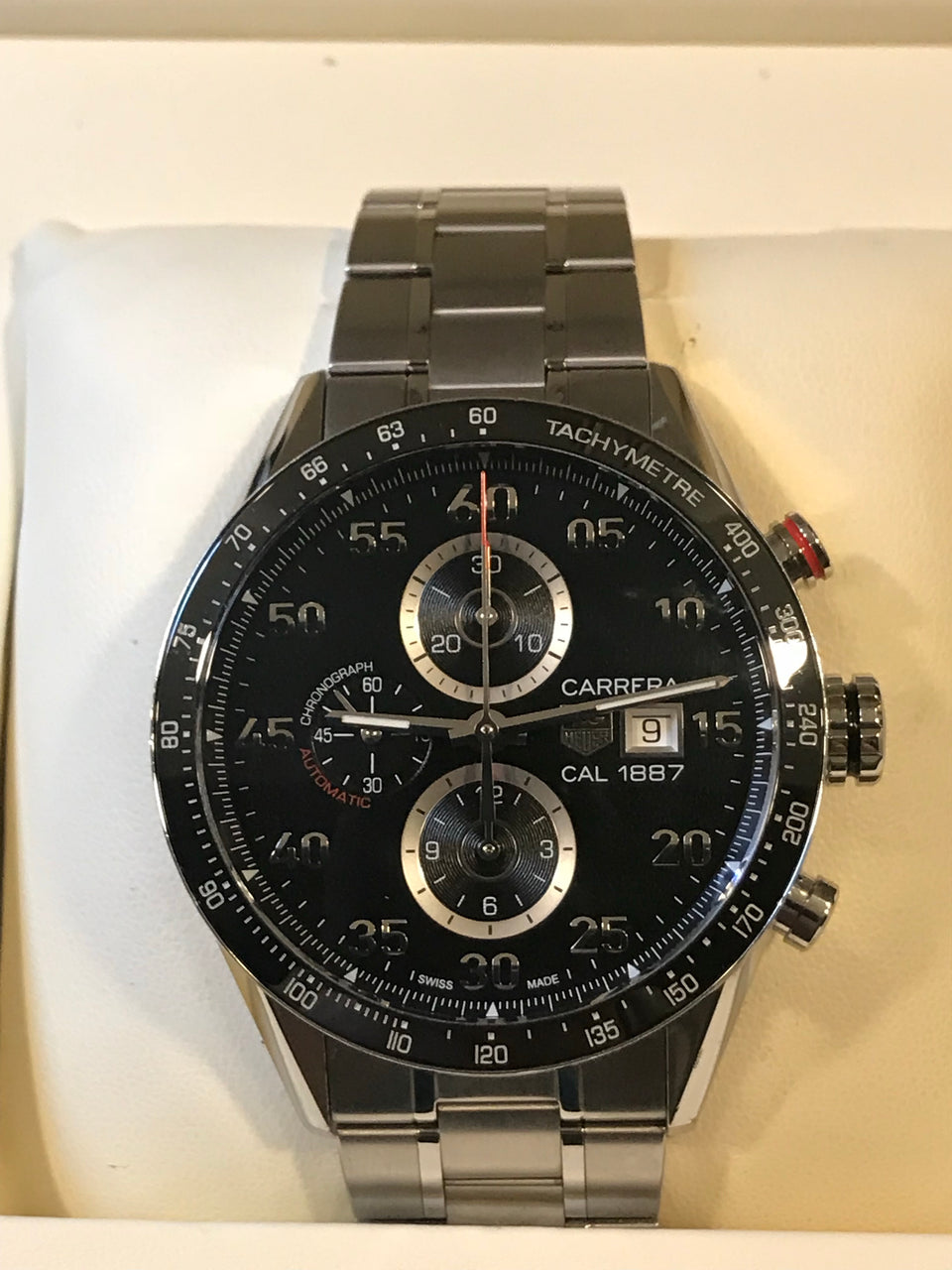 Tag Heuer Carrera 1887 Ceramic 43mm, Complete Set