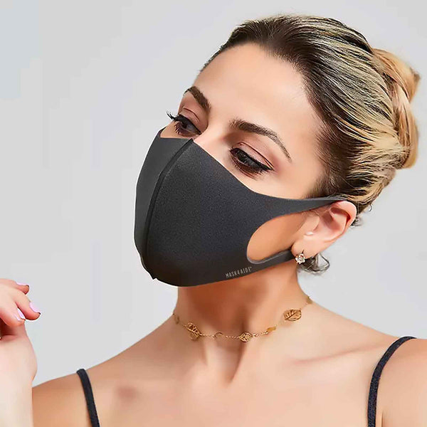 Mask4Aide Sealed Single iMask, Black