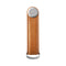 Orbitkey Key Organizer 2.0 Leather, Tan with White Stitching