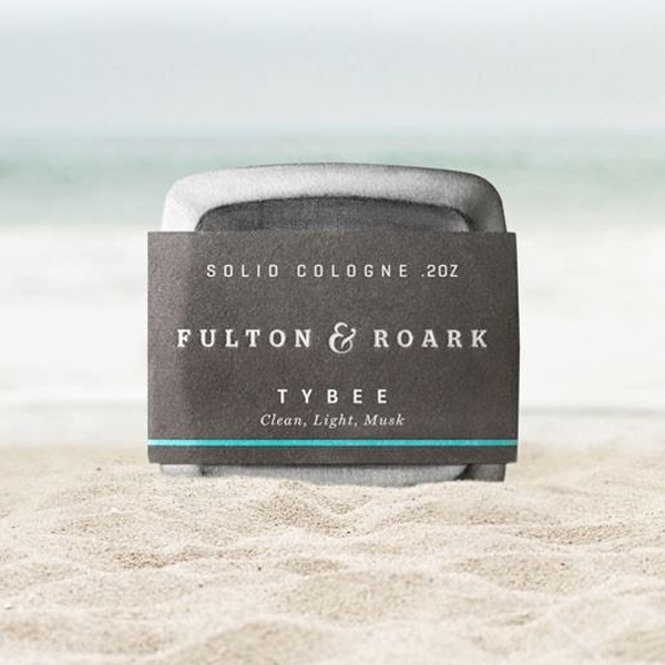 Solid Cologne, Tybee .2oz