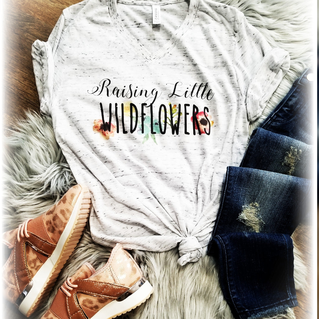 Raising Little Wildflowers Tee