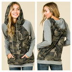 Can't Get Enough Camo Hoodie