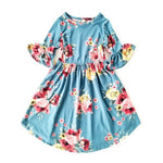 Adeline Dress-Dusty Blue-TODDLER