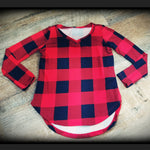 Beauty in Buffalo Plaid-Girls