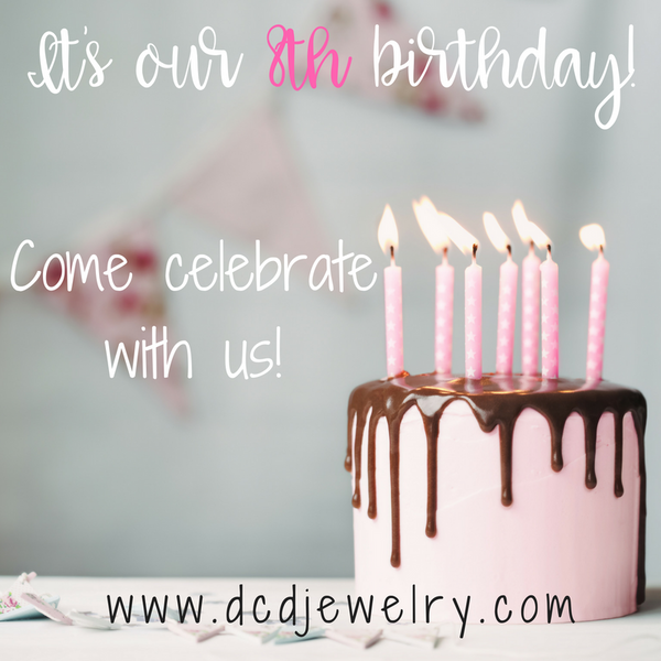 It's our 8th birthday!!!
