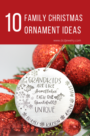 10 Family Christmas Ornament Ideas