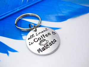 Sweet and Funny Sayings Jewelry and Gifts - Hand stamped Key chain