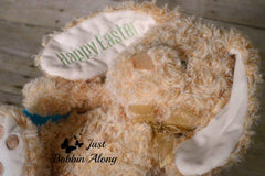 cute beige bunny by Just Bobbin Along