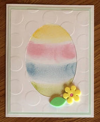 Pastel Egg Easter Card by Inked Love Cards