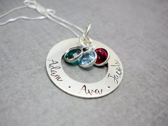 custom washer necklace