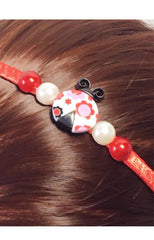 Lady Bug head band