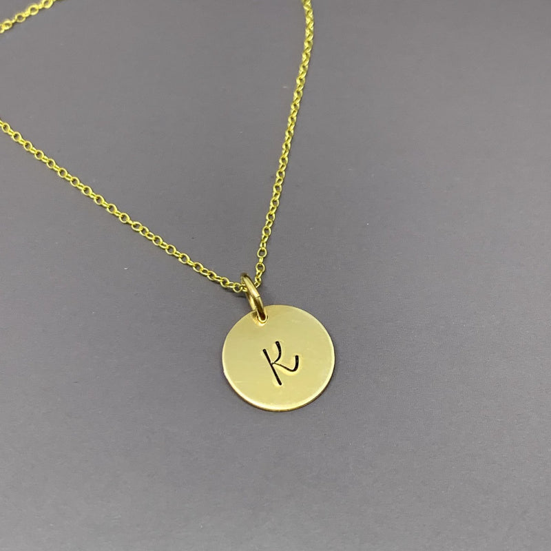 Bridesmaid proposal necklace gold