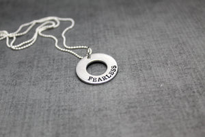 2019 Word of the year necklace, dcdjewelry