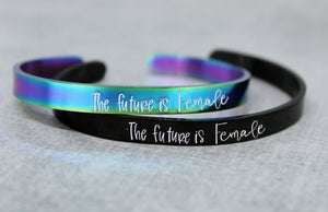 The future is female cuff bracelet | dcdjewelry