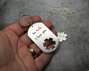 EMS Key chain Gift Set, First Responder gift, in hand