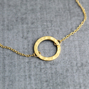 Gold Karma necklace - Sweet Tea & Jewelry