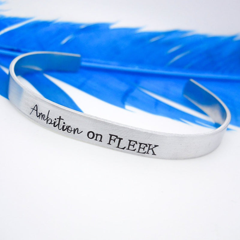 Ambition on Fleek Cuff Bracelet