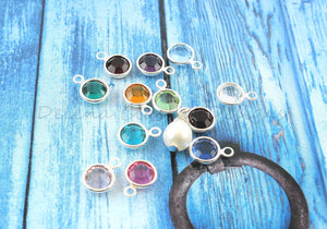 Channel Drop Birthstone Charm Add-on