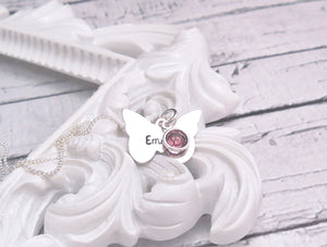 Sterling Silver Butterfly necklace - Sweet Tea & Jewelry