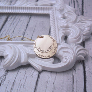 Gold Kids Name Necklace | Custom Necklace