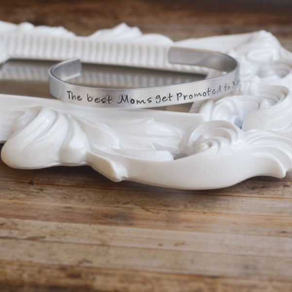 Nana bracelet, The best moms get promoted to Nana - Delena Ciastko Designs