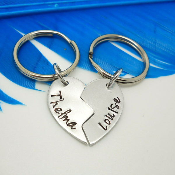 Thelma and Louise 2 piece key chain set