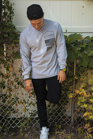 Hungry Humble Happy Long Sleeve