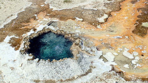 East Chinaman Spring, Upper Geyser Basin, Yellowstone National Park