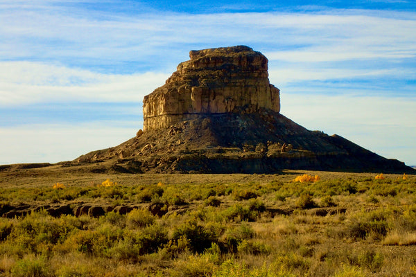 Fajada Butte, Chaco Canyon, Chaco Culture National Historical Park, New Mexico, Road Trip