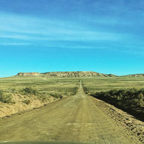 Road to Chaco Canyon, Chaco Canyon, New Mexico, Chaco Culture National Historical Park