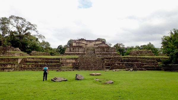 Belize ruins, Mayan Ruins, Temple of the Wooden Lintel, Caracol