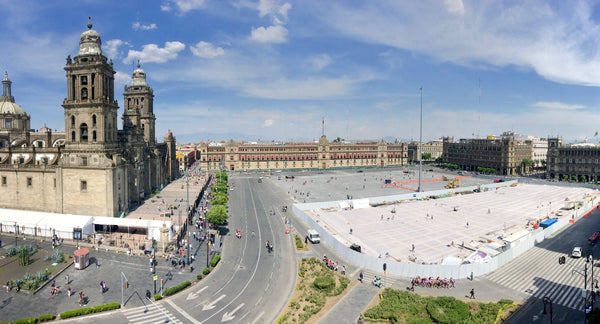 El Zòcalo, Mexico City, Palacio Nacional, National Palace, Plaza de la Constitucion, Aztec Empire, Central Plaza