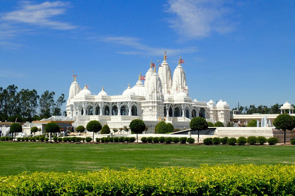 A Hindu Mandir is a place of love, peace, and harmony.
