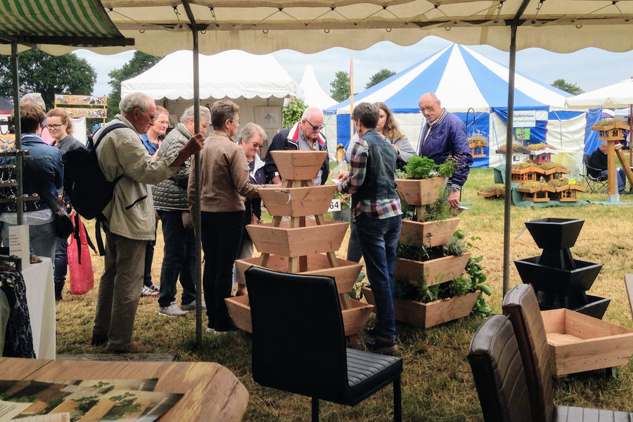 Stapeltuin op de Farm & Country Fair