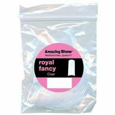 Amazing Shine Royal Fancy Tip Clear #4 50pcs, AS-126