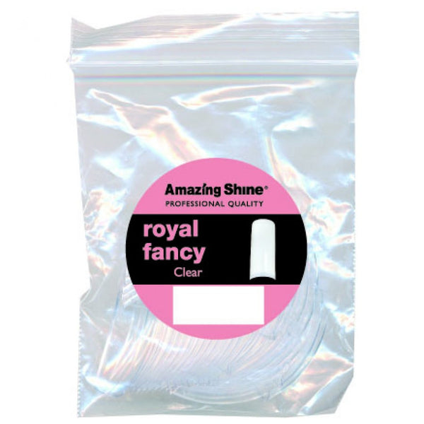 Amazing Shine Royal Fancy Tip Clear #10 50pcs, AS-132
