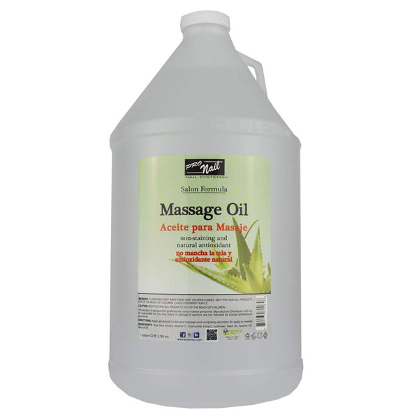 Pro Nail Massage Oil Non Scented 128oz