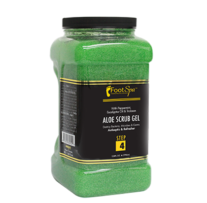 Foot Spa Aloe Scrub Gel Gallon Size