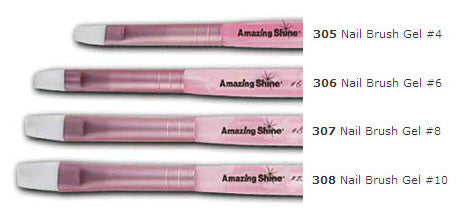 Amazing Shine Nail Brush Gel #4, AS-305