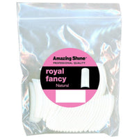Amazing Shine Royal Fancy Tip Natural #6 50pcs, AS-108