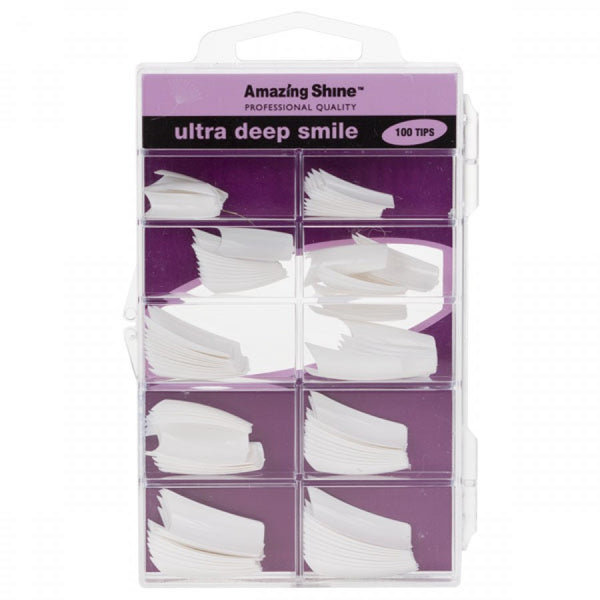 Amazing Shine Ultra Deep Smile Nail Tip French 100pk