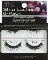 Ardell Strip Lashes 6-Pack Giselle - 60071