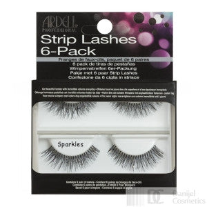 Ardell Strip Lashes 6-Pack Sparkles  - 60074