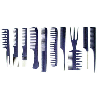 Aristocrat Professional Comb Kit 10pc Rol Up