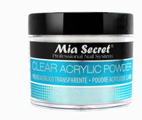 MIA SECRET CLEAR ACRYLIC NAIL POWDER