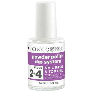 Cuccio Dip System Base and Top Coat Gel .5oz, 5502