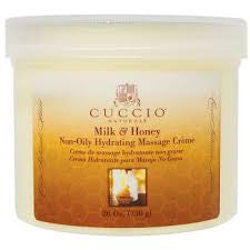 Cuccio Hydrating Massage Creme Milk & Honey 26oz, 3605