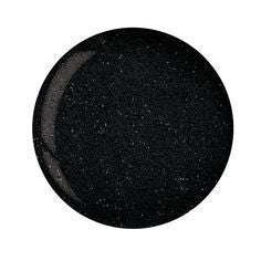 Cuccio Powder Polish 1.6oz Black Glitter, 5560