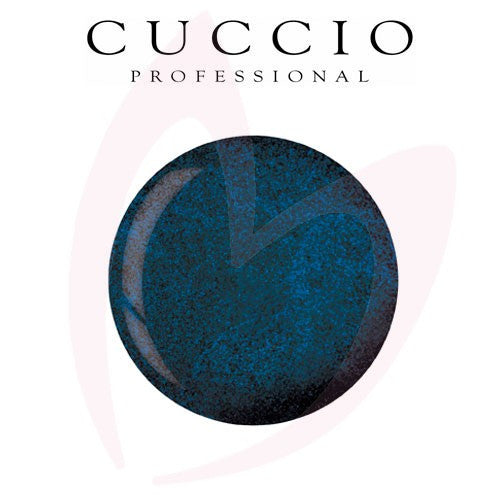 Cuccio Powder Polish 1.6oz Blue w Green undertones, 5526