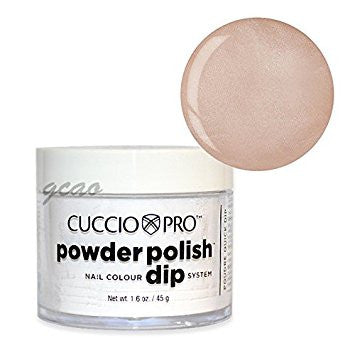 Cuccio Powder Polish 1.6oz Iridescent Cream, 5549